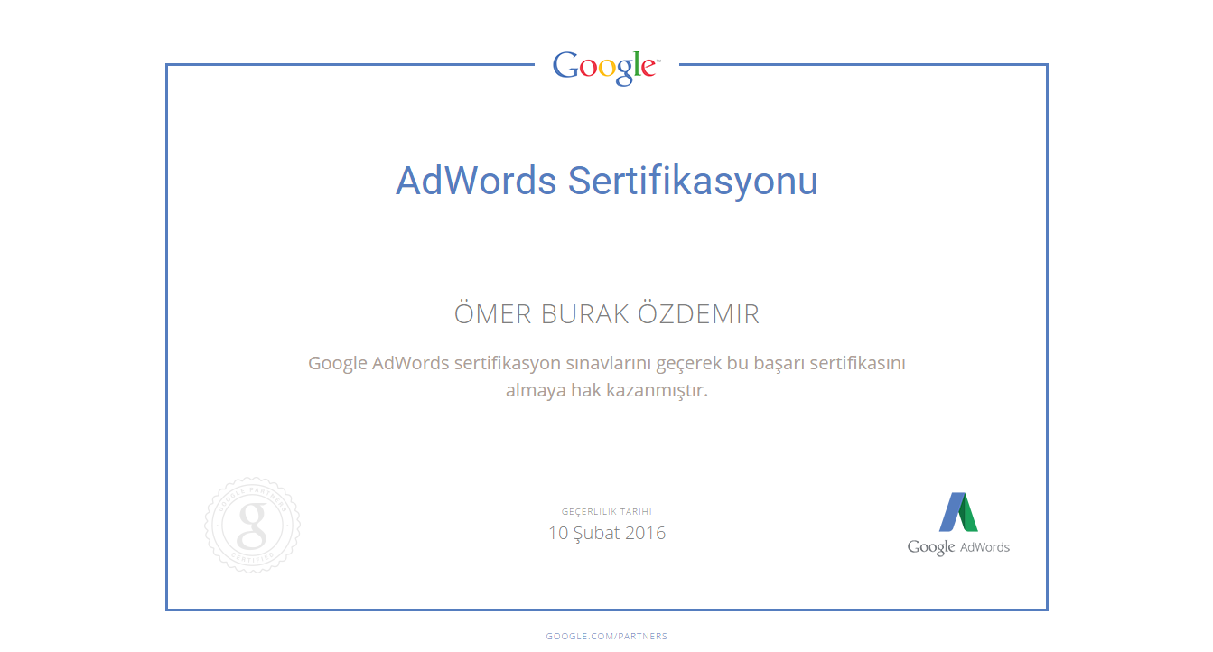 Google-Partners-Certification