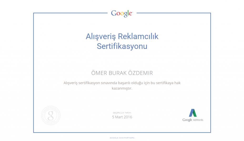 google-alisveris-reklamcilik-sertifikasyonu